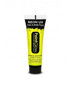 Maquillaje fosforescente neón UV en bote