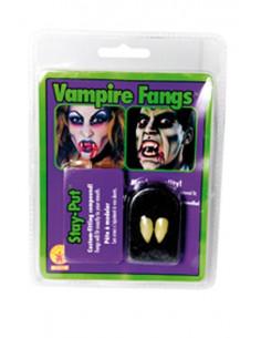 Colmillos de vampiro postizos