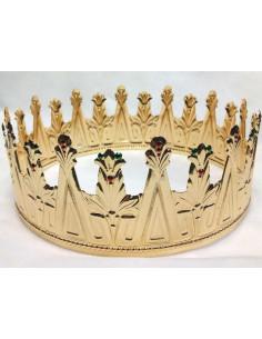 Corona de rey con puntas