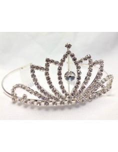 Corona de princesa con diadema