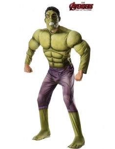 Disfraz Hulk musculoso hombre