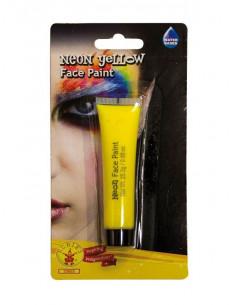 Maquillaje neón para cara