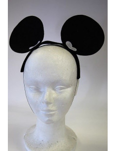 Orejas de ratón Mickey de fieltro