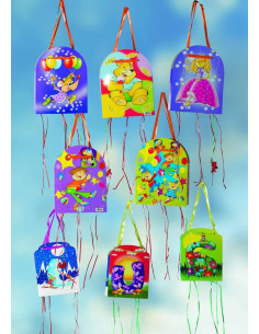 Piñata infantil de dibujos surtidas