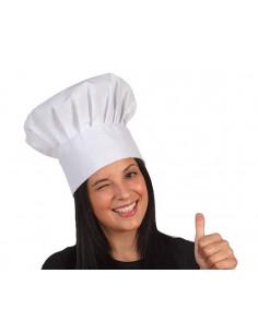 Sombrero cocinero alto