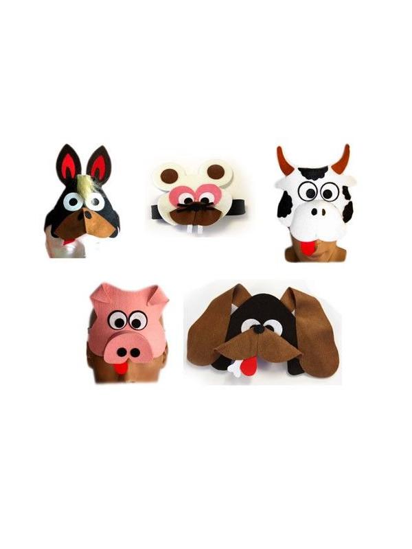 Cinta para la cabeza de animales comprar en tienda disfraces bacanal - Cabezas animales tela ...