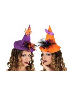 Sombrero bruja diadema