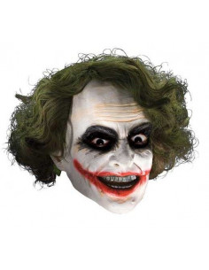 Máscara Joker con peluca