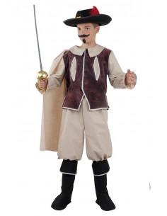 Disfraz mosquetero niño  Modelo-Único Tallas-12 años