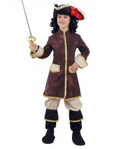 Disfraz de Mosquetera Real para niña