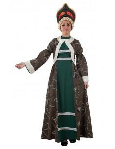 Disfraz de princesa rusa mujer