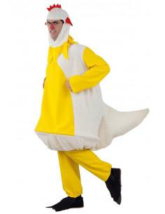 Disfraz de pollo adulto