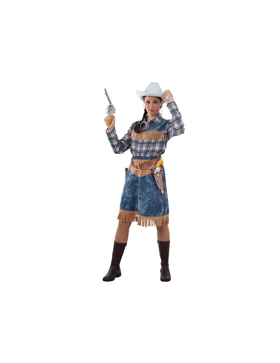 Disfraz vaquera mujer casero