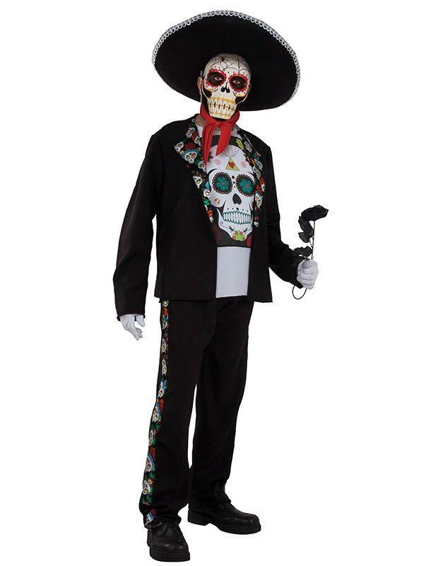 Disfraz Catrina hombre - Comprar en Tienda Disfraces Bacanal 411e1b9c9e3