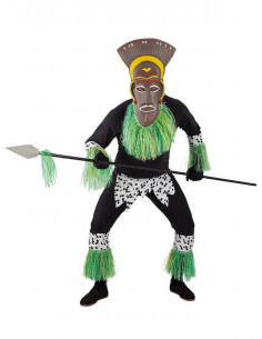 Disfraz de africano para hombre