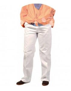 Pantalón blanco para peñas