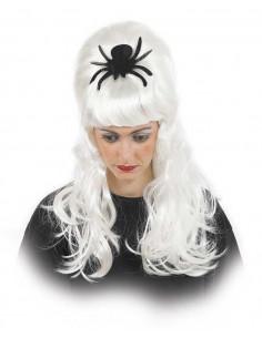 Peluca halloween araña