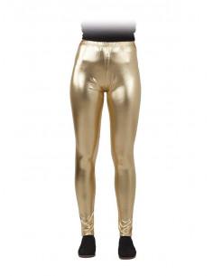 Leggings metalizados para mujer