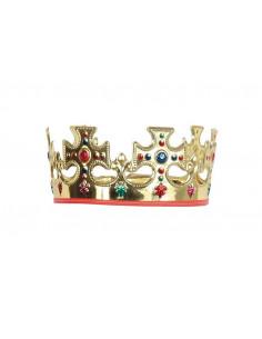 Corona rey plastico