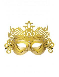 Antifaz veneciano corona