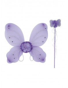 Alas mariposa y varita