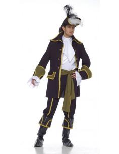 Disfraz bucanero elegante hombre