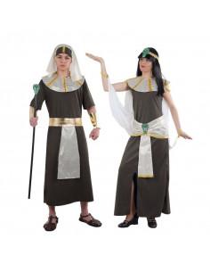 Disfraz en pareja de Faraones Egipcios