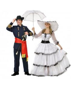 Disfraz en pareja de Western