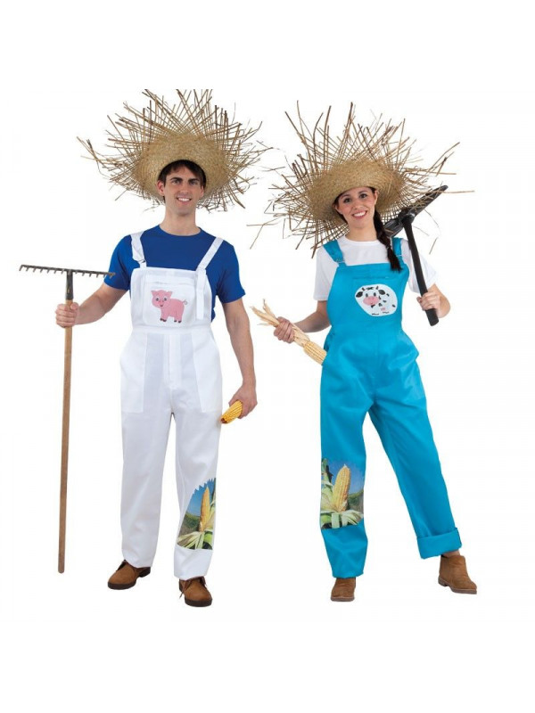 Disfraz en pareja de Granjeros