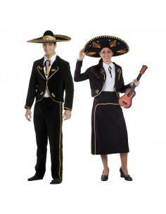 Disfraz en pareja de Mariachis