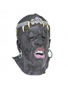 Mascara de rey africano