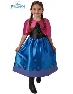 Disfraz Anna Frozen classic para niña
