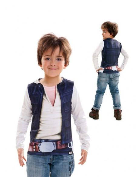 Camiseta Han Solo Star Wars para niño