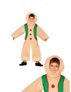 Disfraz Galleta de jengibre infantil
