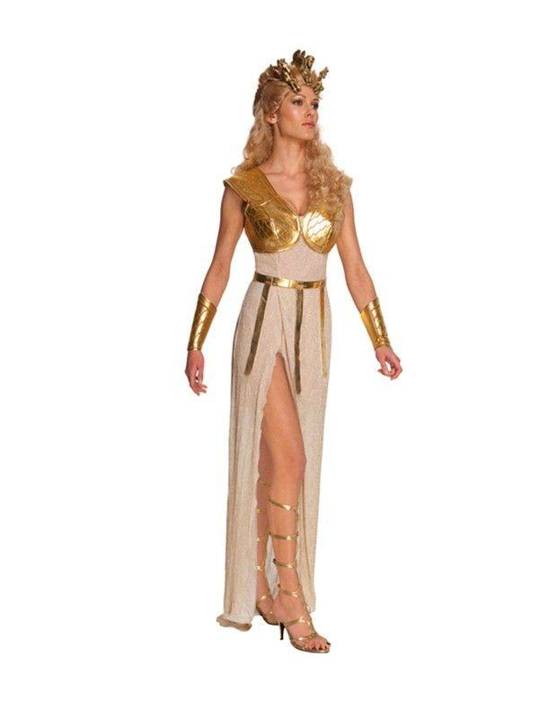 Disfraz de Athena de Furia de Titanes mujer