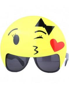 Gafas de emoticono para mujer