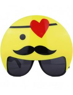 Gafas de emoticono bigote