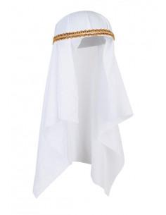 Tuebante árabe blanco