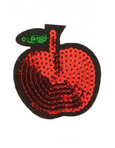 Aplique manzana de lentejuela