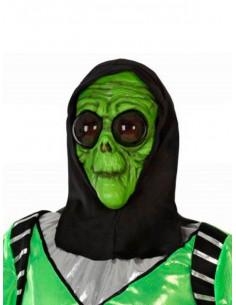 Máscara de extraterrestre verde
