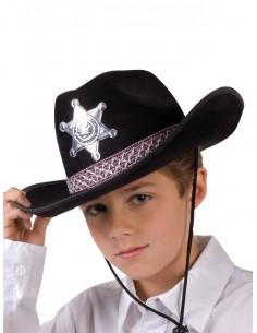 Sombrero sheriff para niño