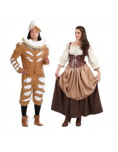 Disfraces de Siglo XVII de Parejas