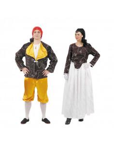 Disfraz en pareja de Goyescos