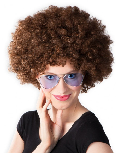 Peluca super afro hombre mujer