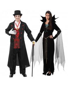 Disfraces de Draculas para Parejas