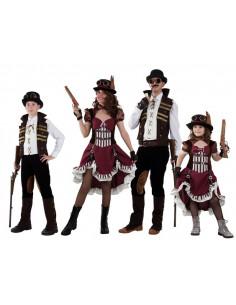 Disfraces de Steampunk para familias