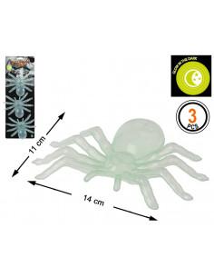 Arañas fluorescentes