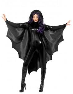 Capa murciélaga para mujer