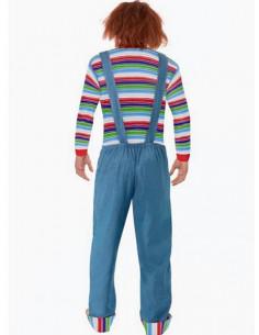 Disfraz Chucky para hombre