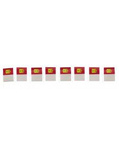 Banderín de Castilla la Mancha papel